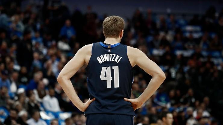 NBA: Nowitzki po operacji żegna się z ligą