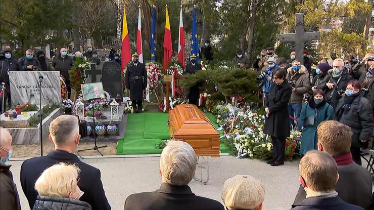 """Pogrzeb Jana Lityńskiego. """"Bez takich ludzi nie byłoby wolności"""""""