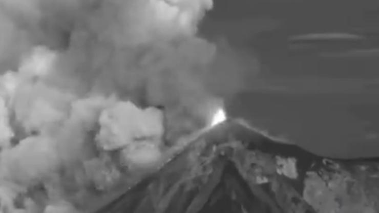 Gwatemala. Wybuchł wulkan Fuego