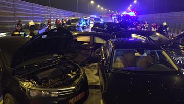 Wypadek samochodu wiozącego Antoniego Macierewicza. Szefowi MON nic się nie stało