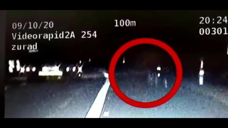 Pijany rowerzysta śpieszył się do dziewczyny. Jechał autostradą A4, bo posłuchał nawigacji