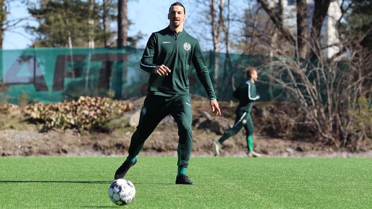 Ibrahimovic trenuje w klubie, którego... jest właścicielem