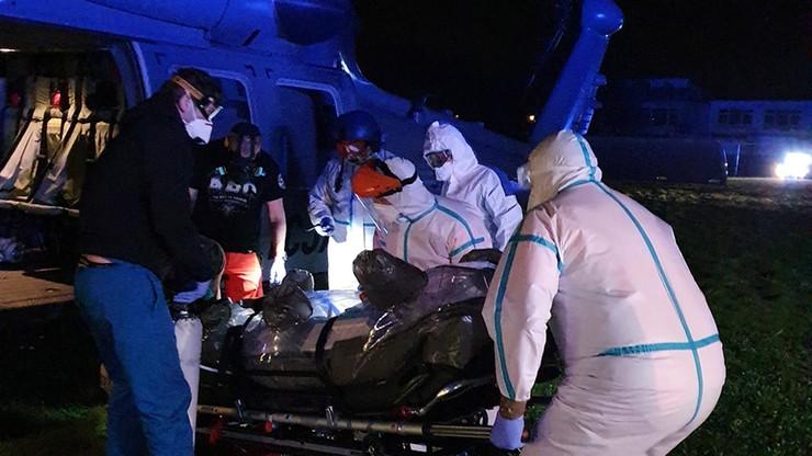 Policyjny Black Hawk pomógł w ratowaniu życia pielęgniarki