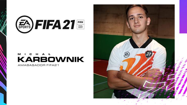 Piłkarz Legii Warszawa polskim Ambasadorem gry FIFA 21