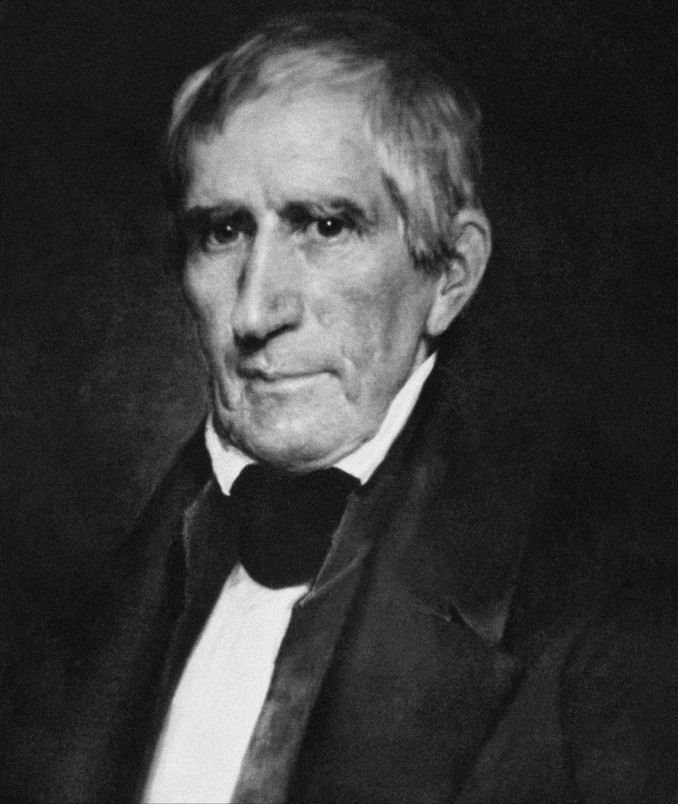 William Henry Harrison w 1841 roku