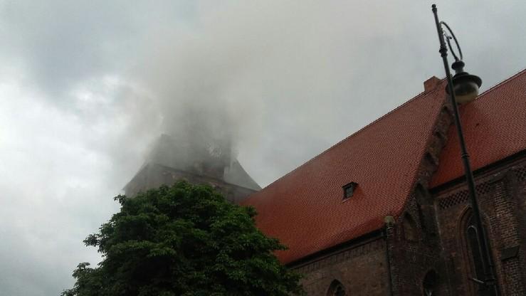 """""""Płonie katedra w Gorzowie Wielkopolskim"""" - informuje czytelnik polsatnews.pl"""