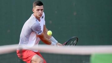 ATP w Dubaju: Hurkacz odpadł w ćwierćfinale debla