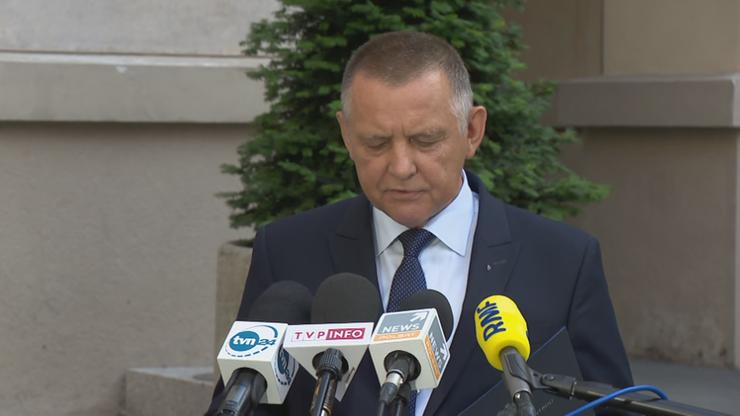 Prezes NIK Marian Banaś: zatrzymanie mojego syna nie wpłynie na pracę NIK