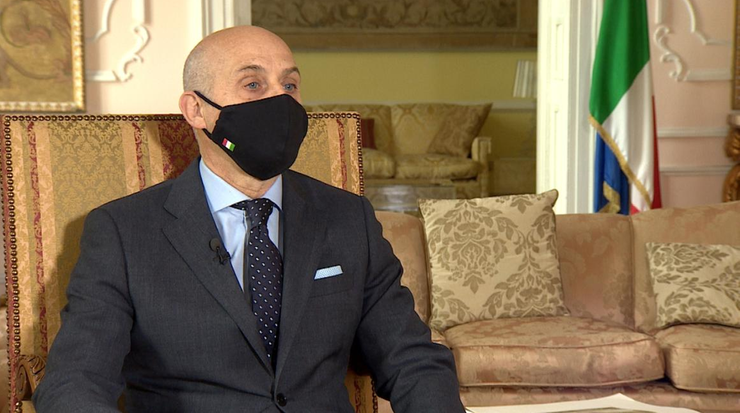 Ambasador Włoch: szef naszej dyplomacji niedługo odwiedzi Polskę