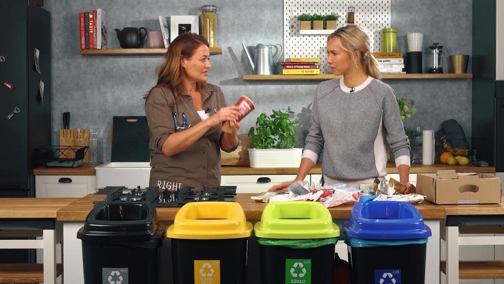 Ekologicznie. Segregujemy śmieci: papier i odpady zmieszane