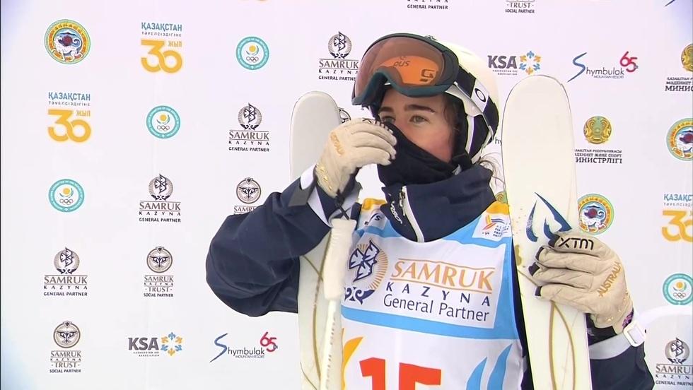 Mistrzostwa Świata w narciarstwie dowolnym Almaty: pojedyncza jazda po muldach finały