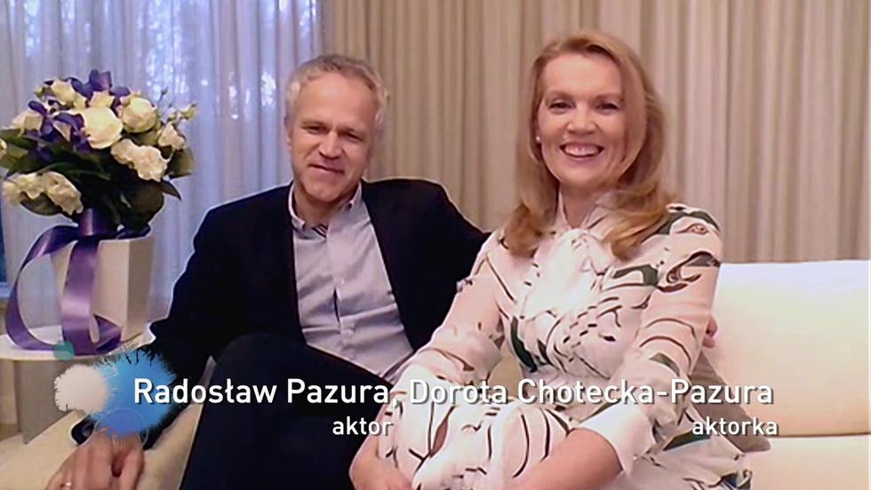 Demakijaż - Dorota Chotecka-Pazura i Radosław Pazura