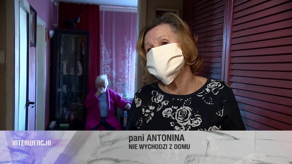 Interwencja - Seniorzy zamknęli się w domach. W pandemii pomagają im wolontariusze i Interwencja