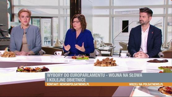 Śniadanie w Polsat News - 24.03.2019